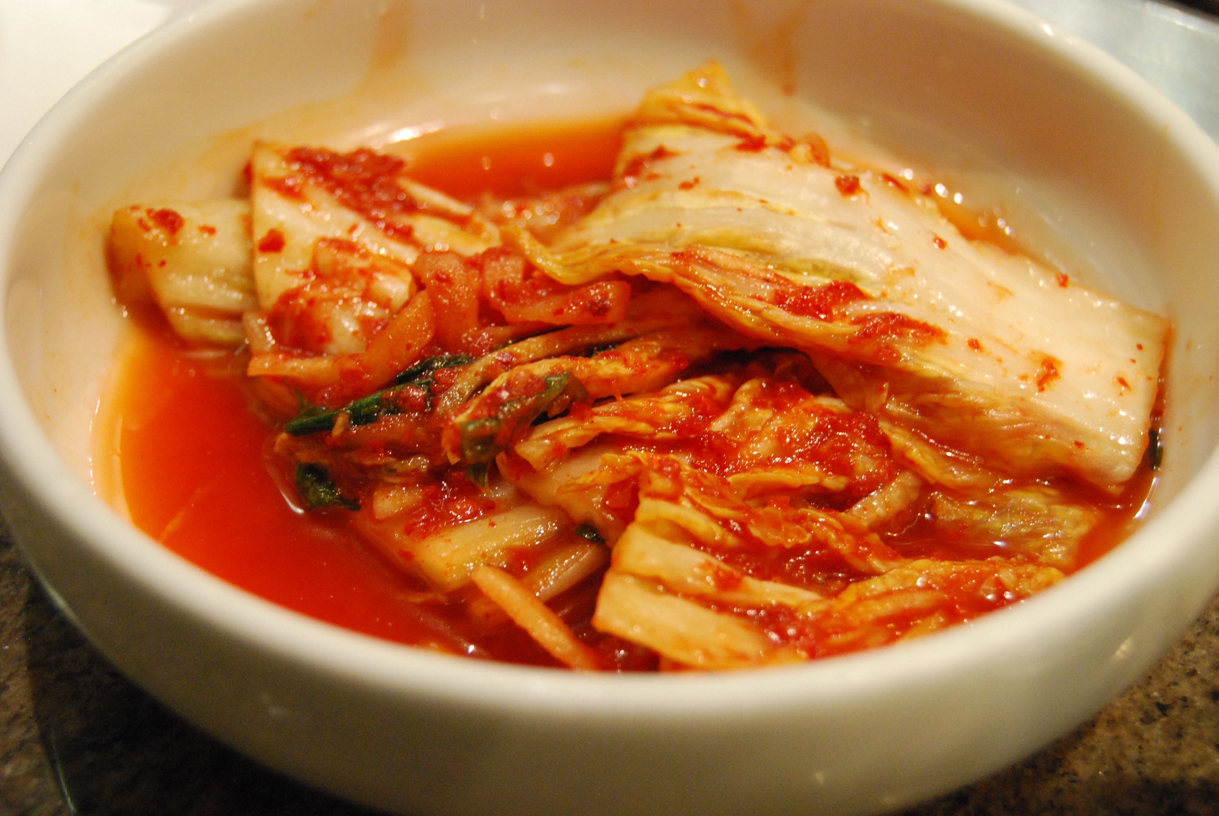 Kimchi Recept Mat Sydkorea Ifokus